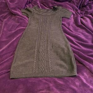 Gorgeous Calvin Klein Cable Knit Sweater Dress S